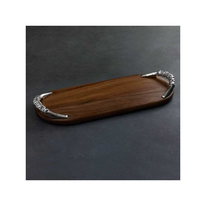 Beatriz Ball Wood SOHO Galena Long Rectangular Cutting Board