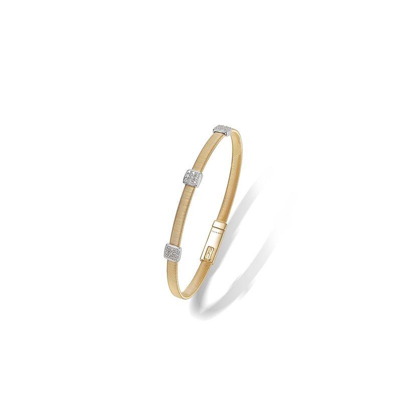 Marco Bicego Three Station Diamond Bracelet
