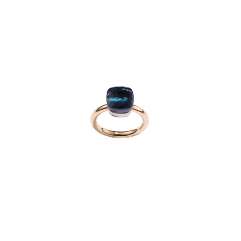 Pomellato Nudo Classic Ring in London Blue Topaz