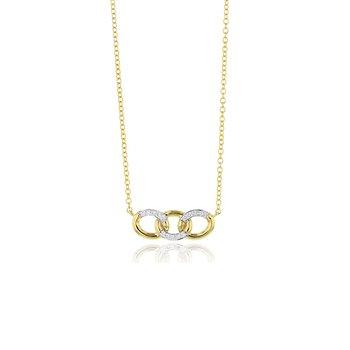 Mini Triple Link Necklace