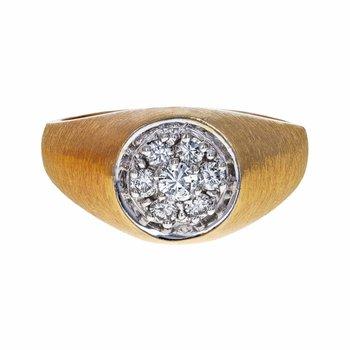 Kentucky Cluster Diamond Ring
