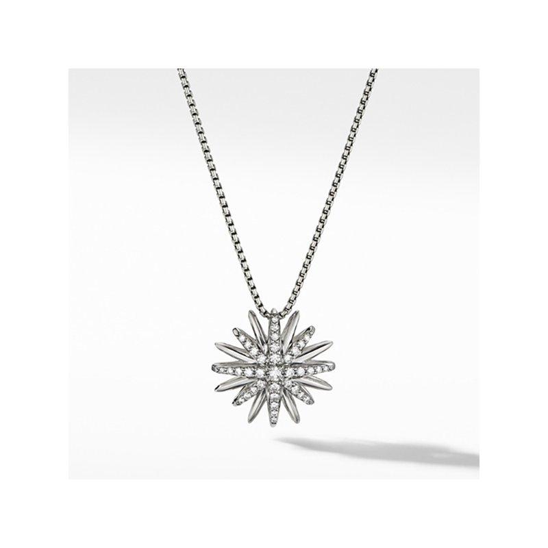 David Yurman Starburst Pendant with Diamonds