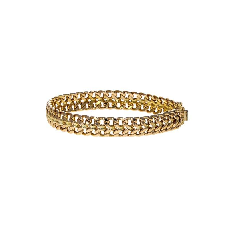 Estate Radcliffe Unoaerre Woven Chain Bracelet