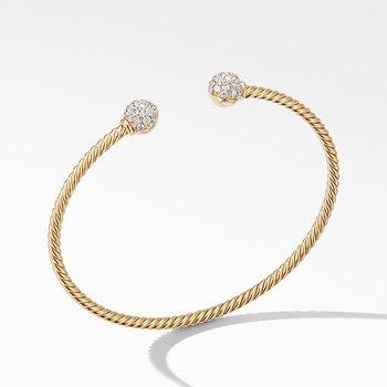 Solari Bracelet in 18K Yellow Gold with Diamonds