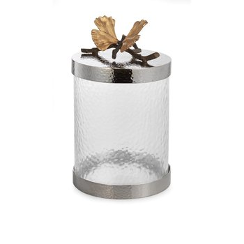 Butterfly Gingko Canister Small