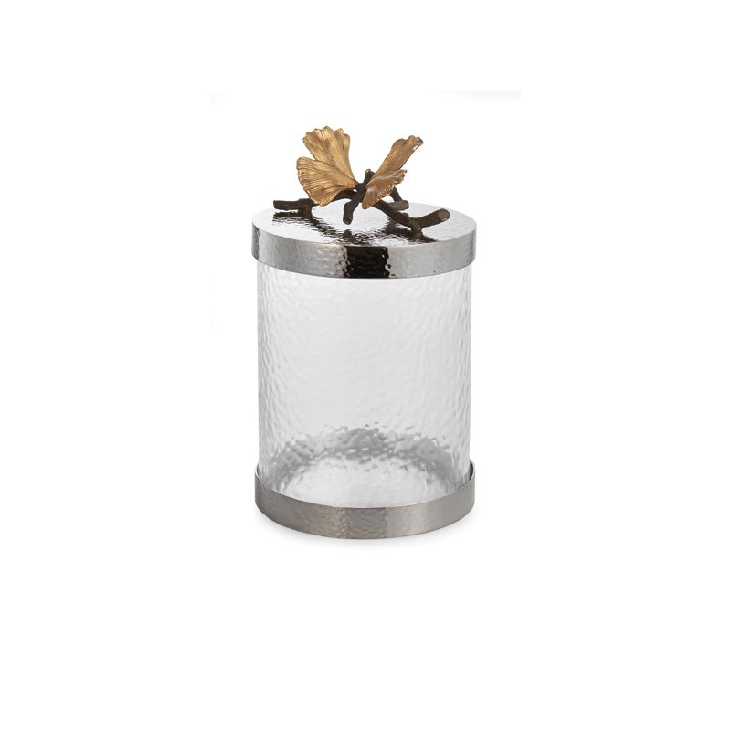 Michael Aram Butterfly Gingko Canister Small