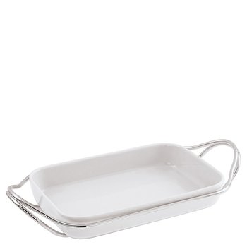 Living Holder with Rectangular Dish
