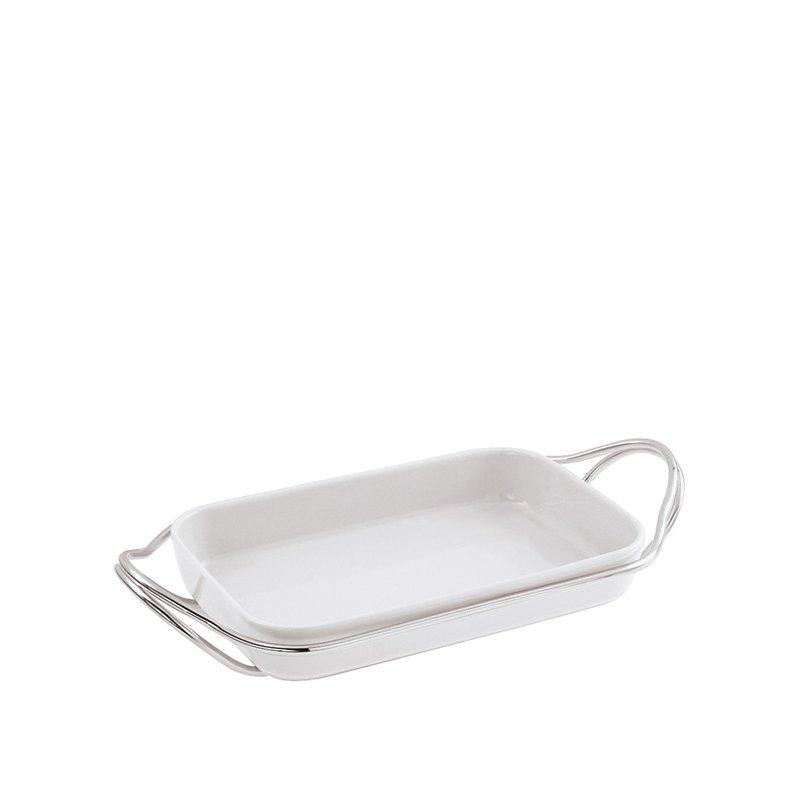 Sambonet Living Holder with Rectangular Dish