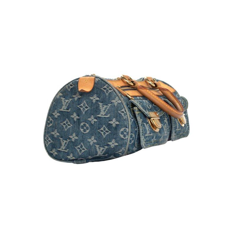 Louis Vuitton Denim Speedy Bag