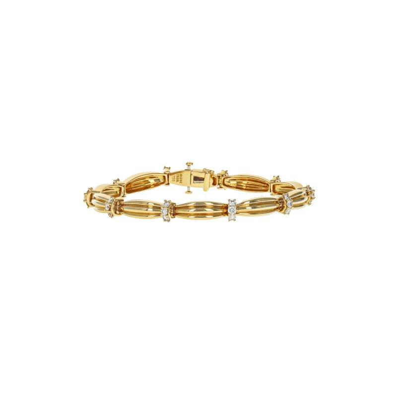 Estate Tiffany & Co. Signature II Diamond Bracelet
