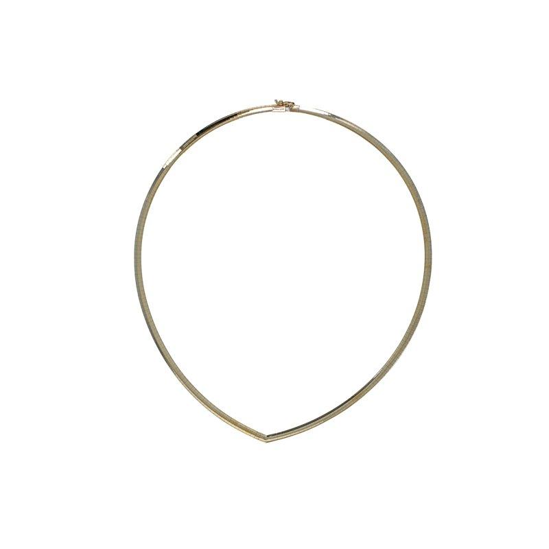 Estate Radcliffe Pointed Omega Neck Collar