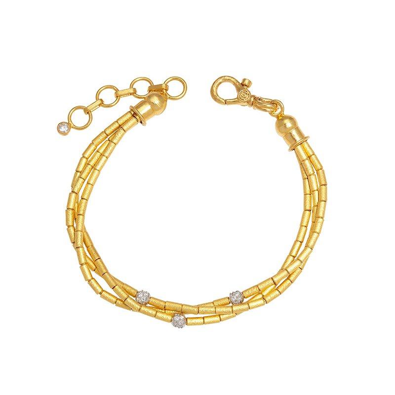 Gurhan 3 Strand Bracelet