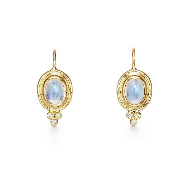 Temple St. Clair Classic Temple Earrings