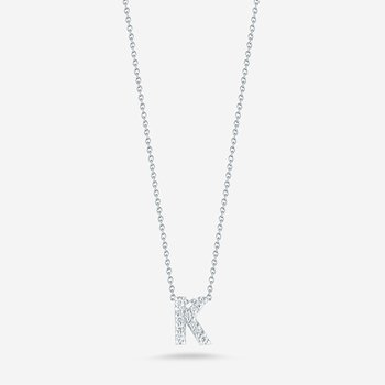 "Diamond ""K"" Pendant"