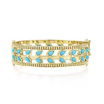 Turquoise Vine Bracelet