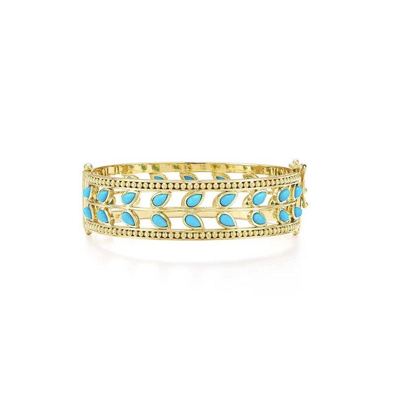 Temple St. Clair Turquoise Vine Bracelet