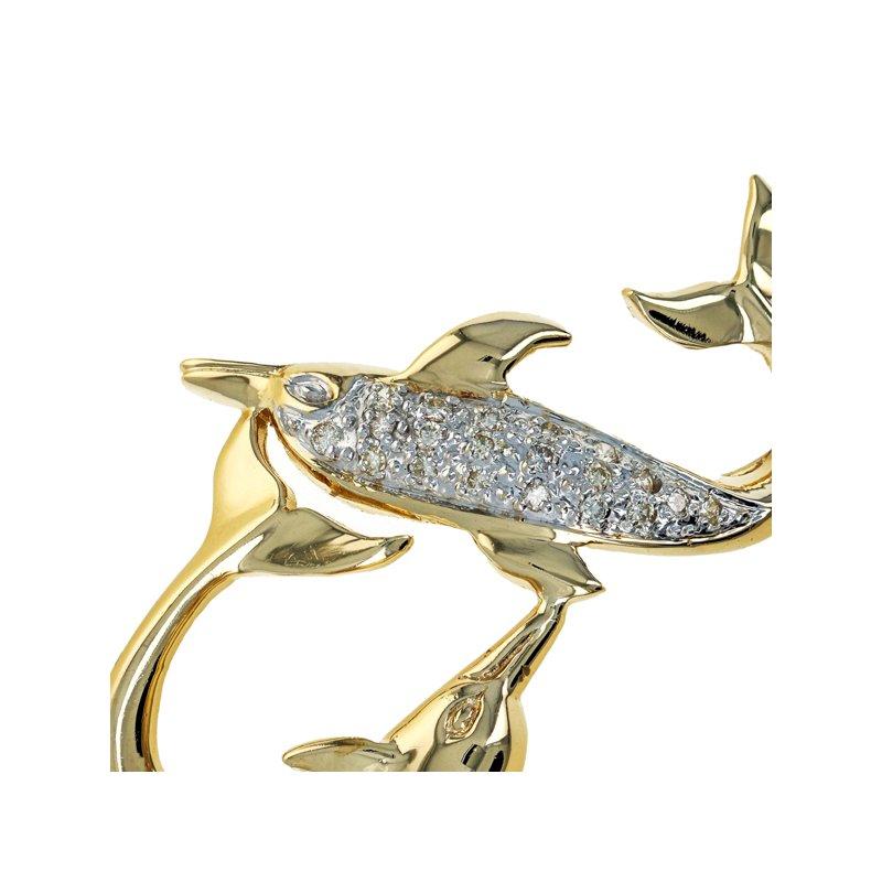 Estate Radcliffe Diamond Dolphin Slider