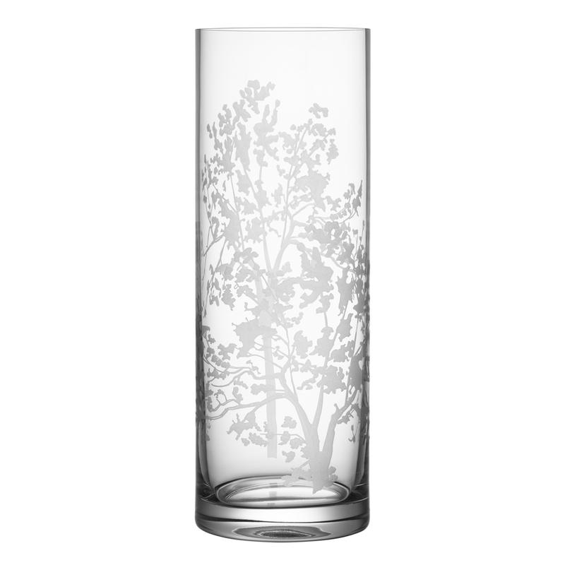 Kosta Boda Organic Cylinder Vase