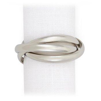 Three Ring Napkin Jewels, Set of 4