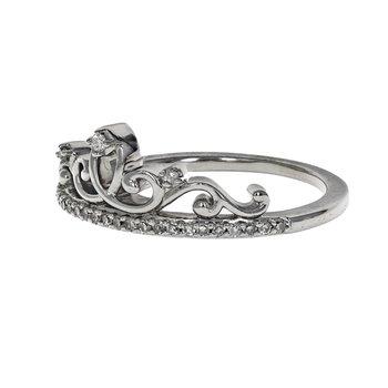 Diamond Princess Crown Ring