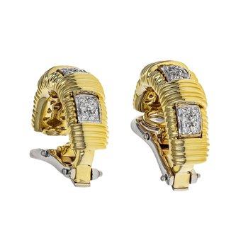 Diamond Appassionata Single Row Earrings