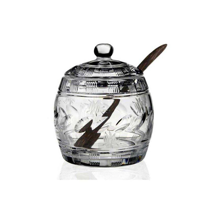 William Yeoward Cara Honey Jar with Spoon