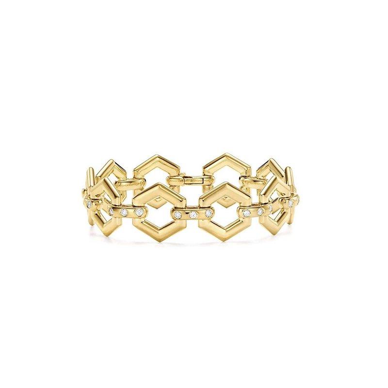 Temple St. Clair Beehive Link Bracelet
