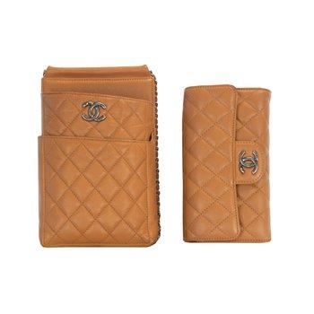 2 Piece Wallet & Carrier Set