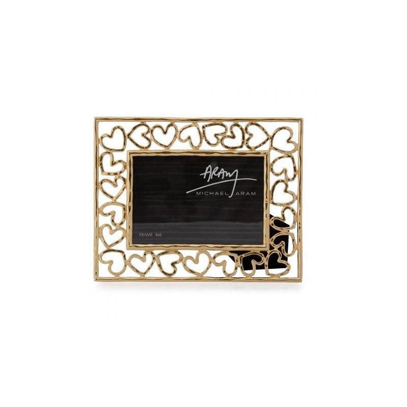 Michael Aram Heart Frame Gold 4 x 6