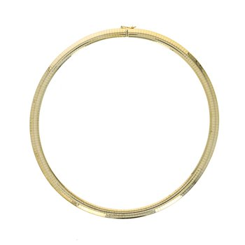 Wide Omega Collar Necklace