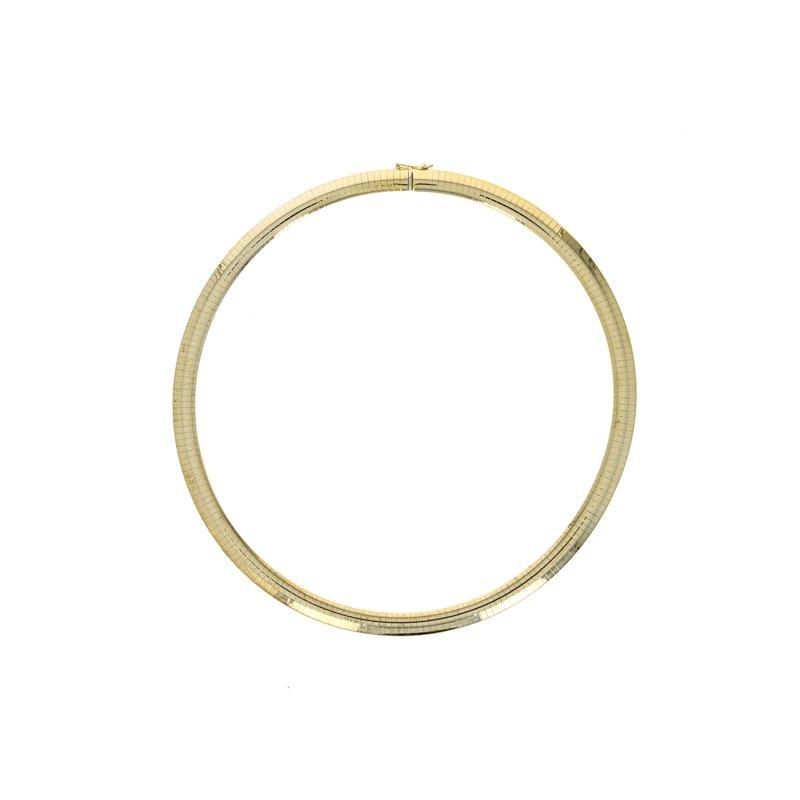 Estate Radcliffe Wide Omega Collar Necklace
