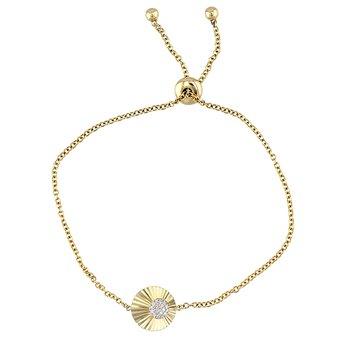 Mini Aura Offset Chain Bracelet