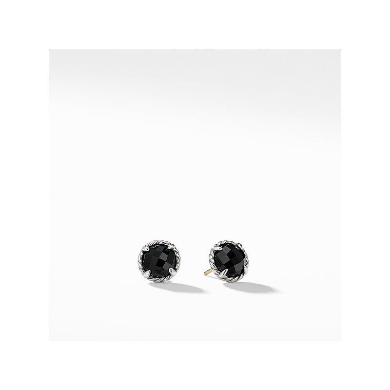 David Yurman Earrings with Black Onyx