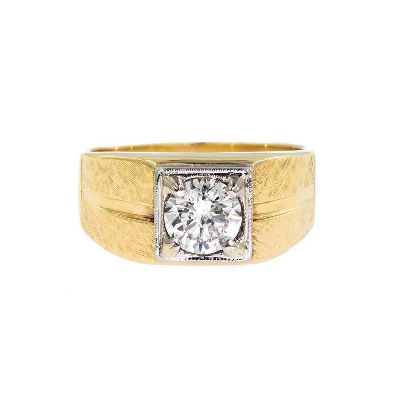 Estate Radcliffe Diamond Men's Ring