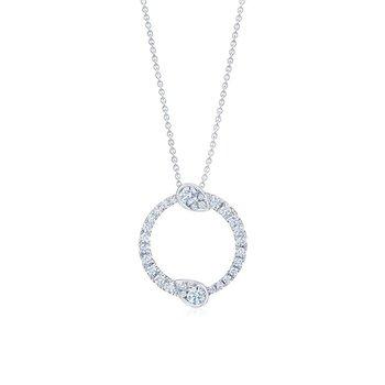 Eclipse Large Pendant with Diamonds