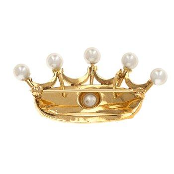 Pearl Crown Pin / Pendant