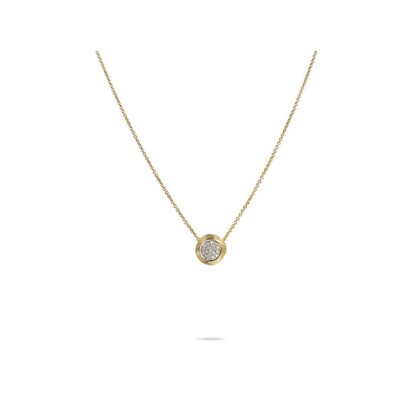 Marco Bicego Delicati Jaipur 18k Diamond Pendant Necklace