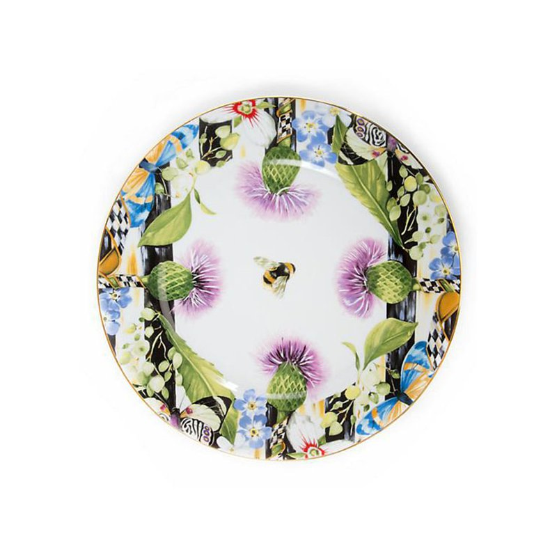 Mackenzie-Childs Thistle & Bee Charger