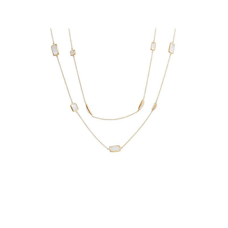 Gurhan Mixed Moonstone Necklace