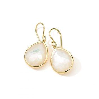 Rock Candy Small Mother-of-Pearl Teardrop Earrings