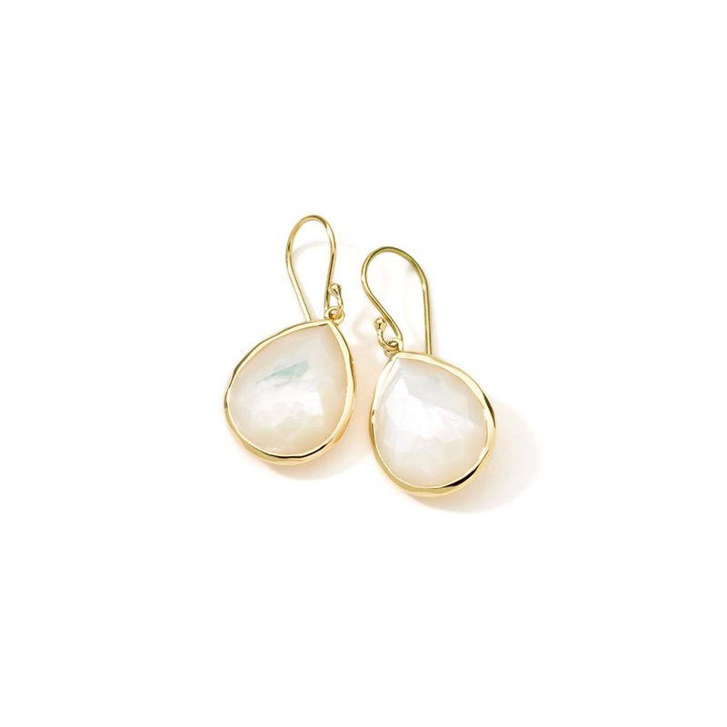 Ippolita Rock Candy Small Mother-of-Pearl Teardrop Earrings