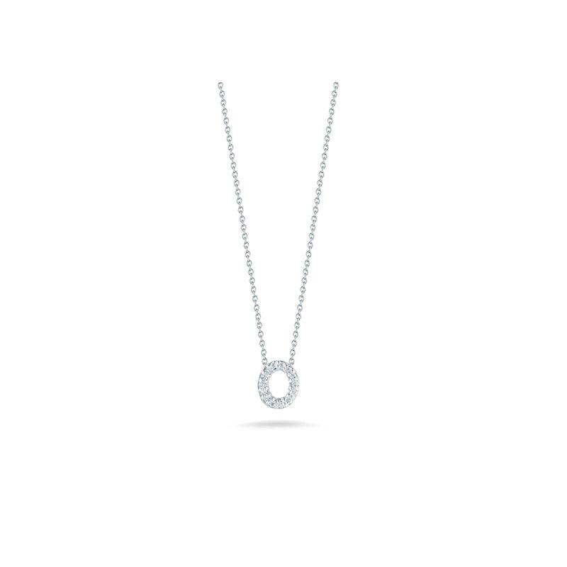 """Roberto Coin Diamond """"O"""" Pendant"""