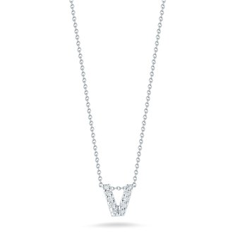 "Diamond ""V"" Pendant"