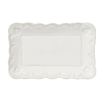 Incanto Stone Lace Rectangular Platter- Small