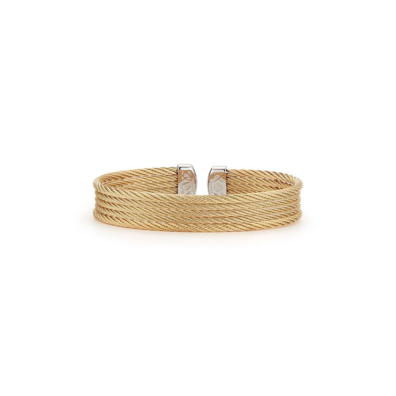 ALOR Yellow Cable Mini Cuff