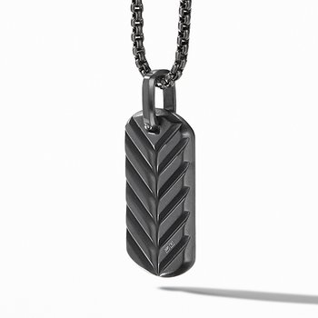 Streamline Tag in Black Titanium