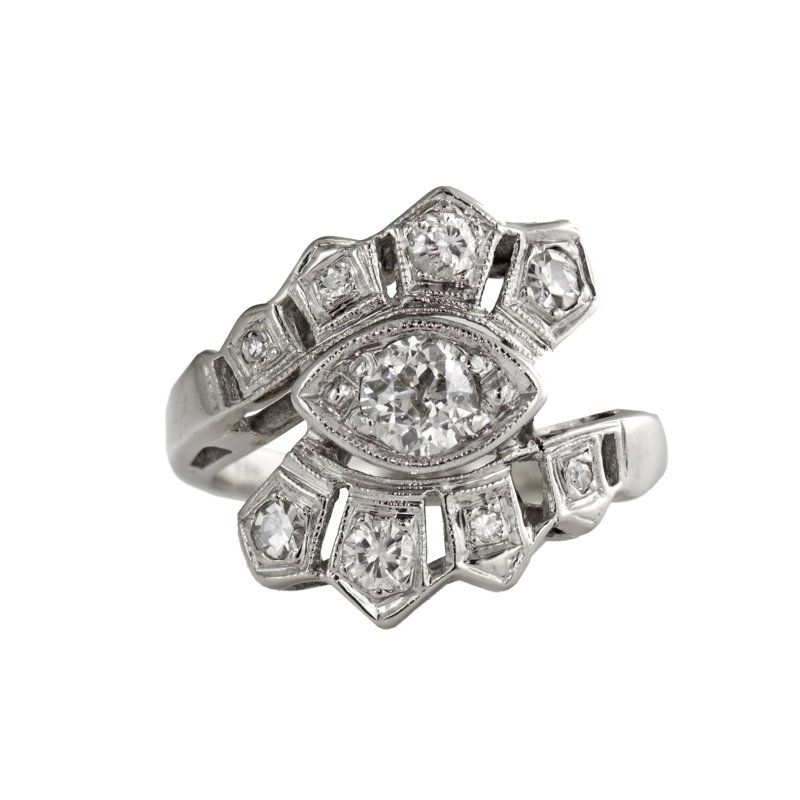 Estate Radcliffe Vintage Diamond Ring