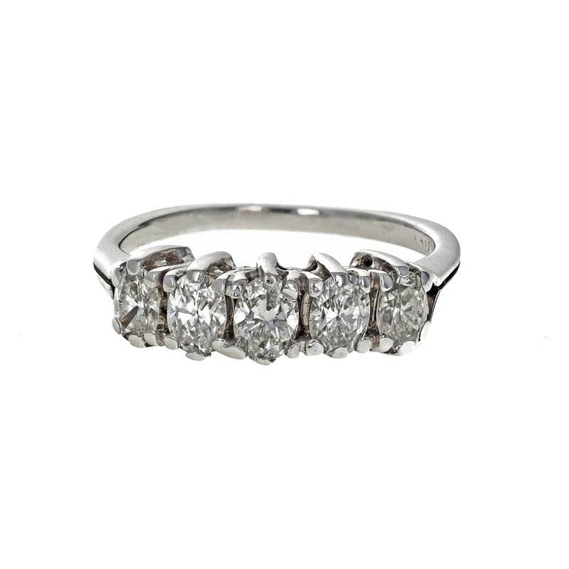 Estate Radcliffe Oval Diamond Ring