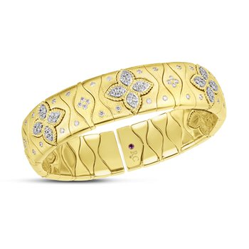 Royal Princess Flower Cuff