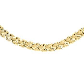Braided Hollow Collar Necklace